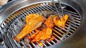[맛집]50년 내공의 복불고기, 복소금구이